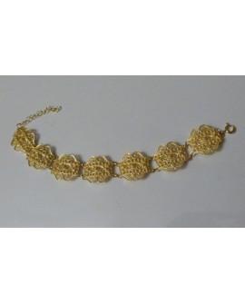 Golden Silver Bracelet