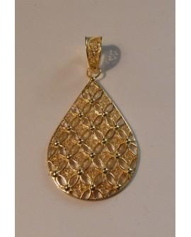Golden Silver  Pendant