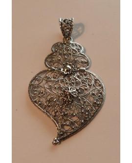Silver Heart of Viana Pendant